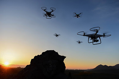 Sécurité : l'usage des drones en question