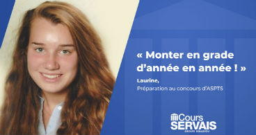 itw laurine aoustin - cours servais
