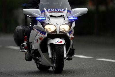 Caroussel des motards de la police nationale