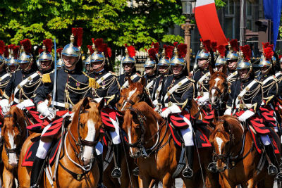 Gendarme en unité de prestige – Garde républicaine