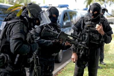 Gendarme en PSPG