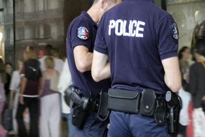 Les grades de la police nationale