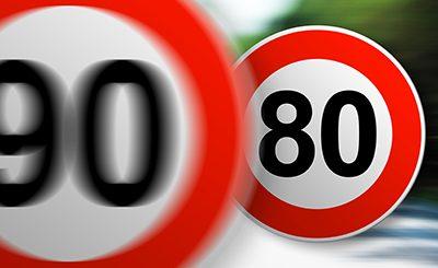 Sécurité routière : la limitation à 80 km/h est entrée en vigueur au 1er juillet