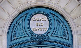 La Caisse de dépôts et consignations