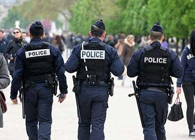 mobilisation des policiers en colere