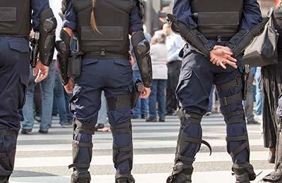 règles de sécurité armes police