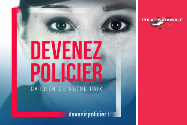 Une nouvelle campagne de recrutement pour la police